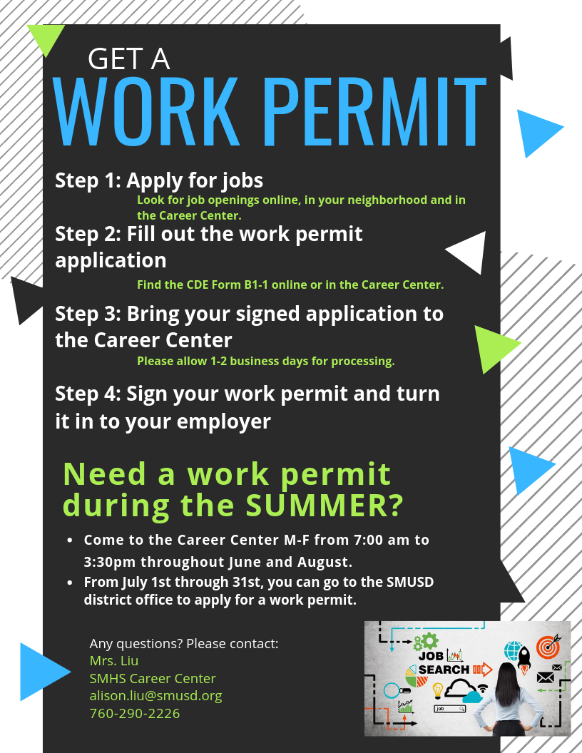 Work permit flyer