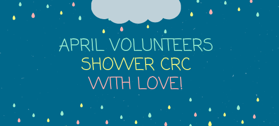 Banner CRC Volunteer of the Month