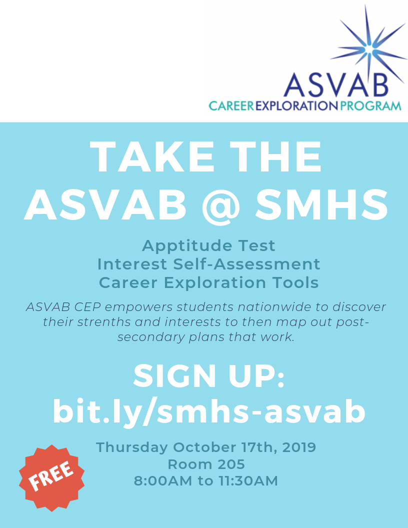 Sign up for the ASVAB