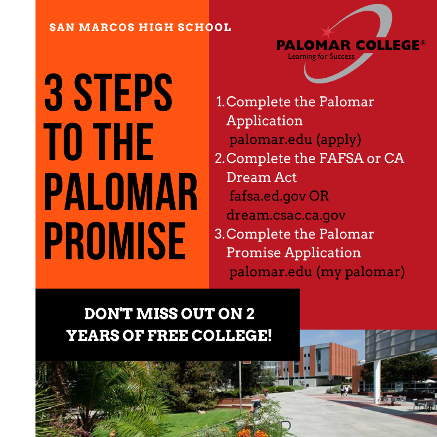 Three Steps to the Palomar Promise