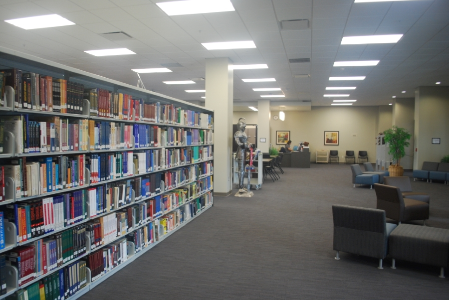 San Marcos High School Library Interior