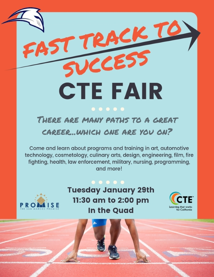 Fast Track to Success CTE Fair
